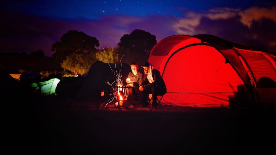 Het plezier van kamperen