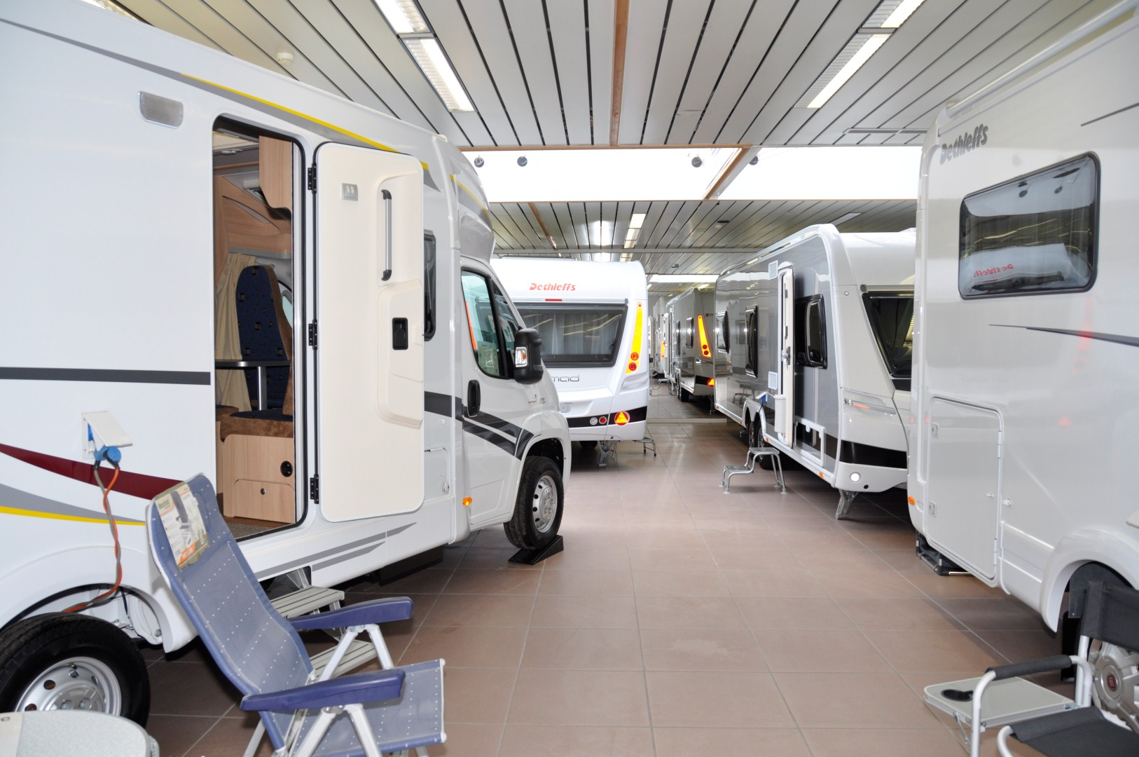 caravaning center toonzaal
