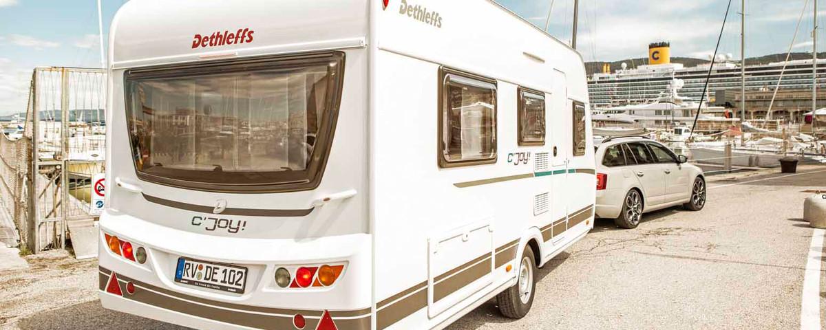 nieuwe caravan kopen Dethleffs cjoy
